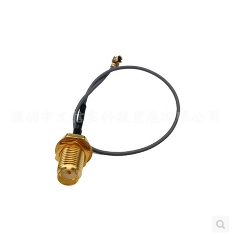 5pcs Extension Cord UFL to RP SMA Connector Antenna WiFi Pigtail Cable IPX to RP-SMA Jack Male SMA to IPX 1.13 15CM