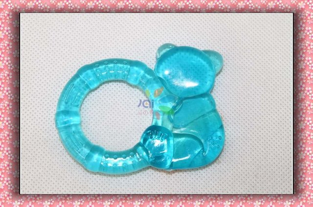 baby eva teether,baby water teether ,BPA free water -filled baby teether