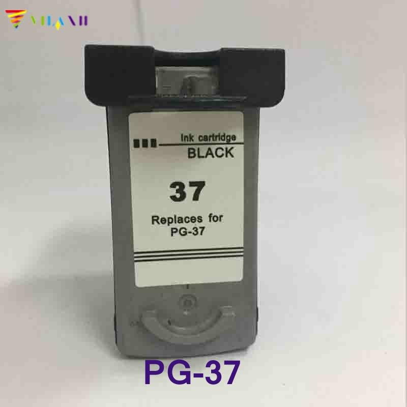 1PK Black Ink Cartridge For Canon PG 37