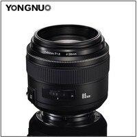 YONGNUO EF 85mm f/1.8 USM Medium Telelens voor Canon SLR Camera met Zonnekap, YN85mm f1.8 Vaste Focus Standaard Lens