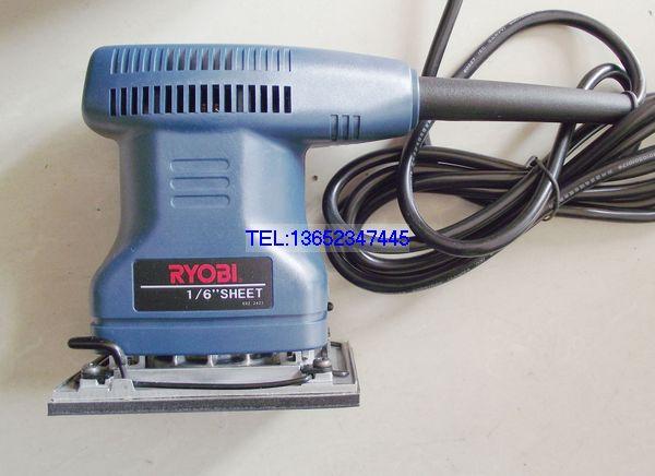 RYOBI outils électriques ponceuses électriques polisseuses S-550 ponceuses orbitales de paume 70*100 Mm carré Tectangle Pad