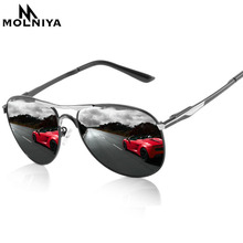 MOLNIYA 2019 Upgrade Quality Men's Sunglasses Women Polarize