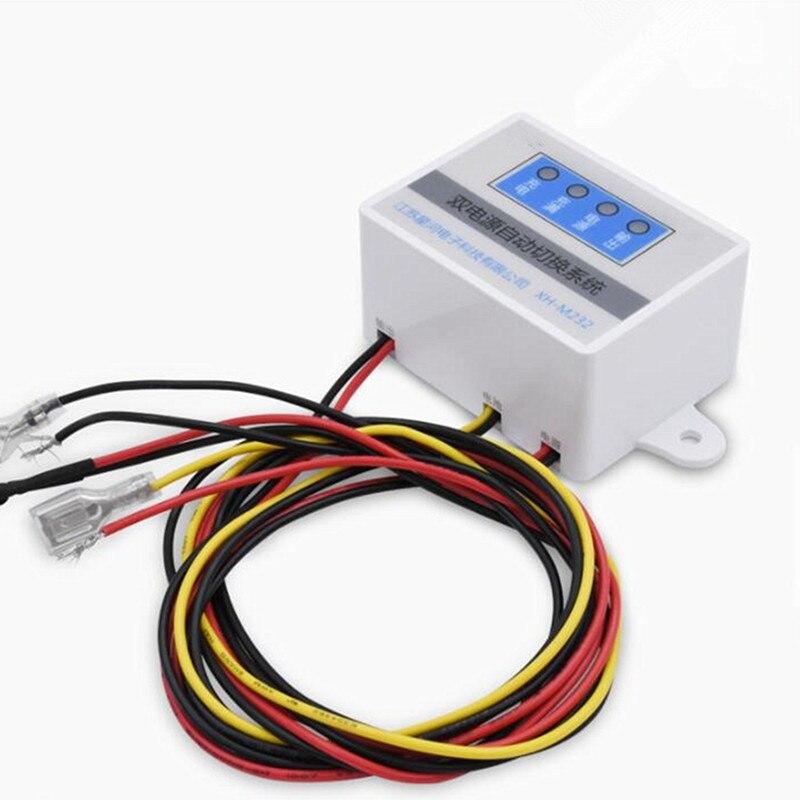 XH-M232 panne de courant commutation automatique Module de batterie interrupteur UPS secours mise hors tension batterie alimentation Rechargeable