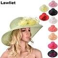 A366 de Verano gran playa ala sol sombreros para las mujeres sombrero de protección mujeres sunhat grande nuevo estilo de dama de la moda
