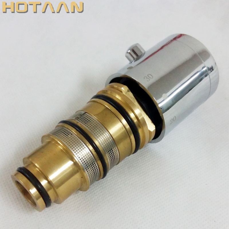 Free Shipping High Quality Brass Thermostatic Mixer Cartridge, Thermostatic Mixer Valve,  Temperature Sensor, YT-5143