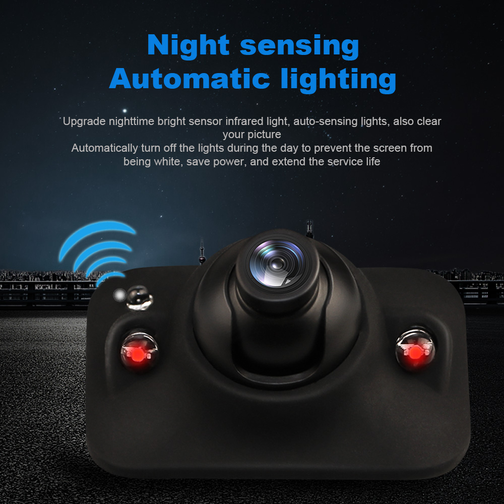 Car HD Rear View Camera Infrared Lights Night Vision Blind Area Camera Image Reversing Camera Car Parking Assistance Waterproof in Vehicle Camera from Automobiles Motorcycles