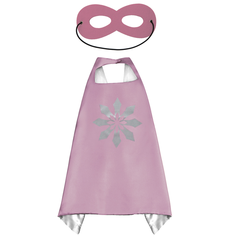 Image 5 - 50 Kids Superhero capes   Double sides Satin Fabric super hero cape + mask party supplies for Children's birthday party cosplay