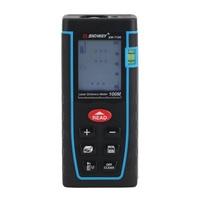 SNDWAY SW T100 Professional Digital Laser Distance Meter Rangefinder Build High Accurate Measure Device Ruler Test