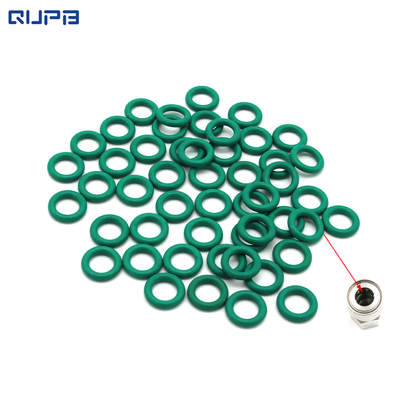 PCP Paintball Socket Fluororubber Durable O-ring 6x2 Green 10pcs/50pcs Pack Free Shipping ORG001