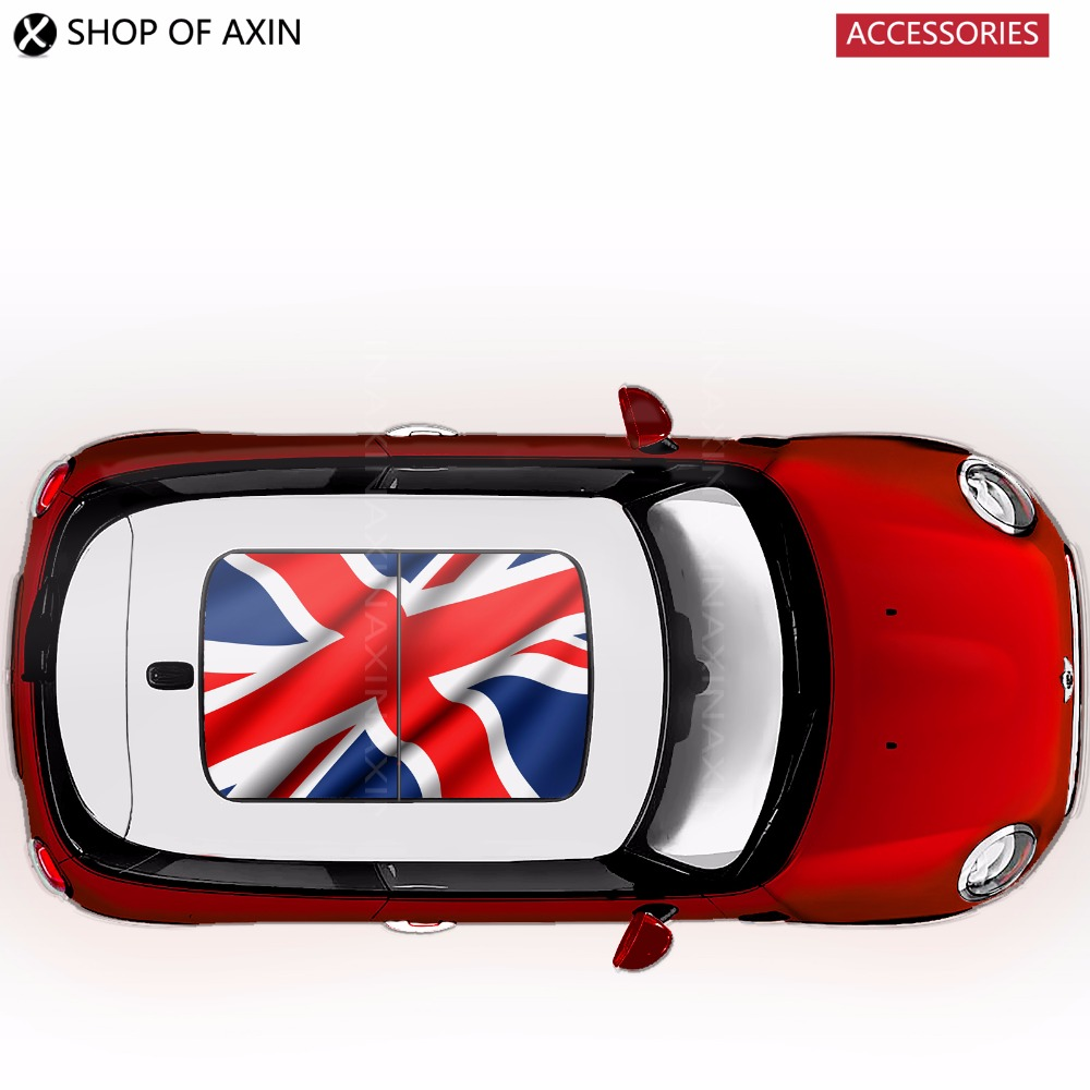 Sunroof Sticker sun Graphics Decoration Wave UK For Mini Cooper clubman countryman hatchback R50 R53 R55 R56 R60 R61 F54 F55 F56 погружной блендер philips hr 1605 00 daily collection