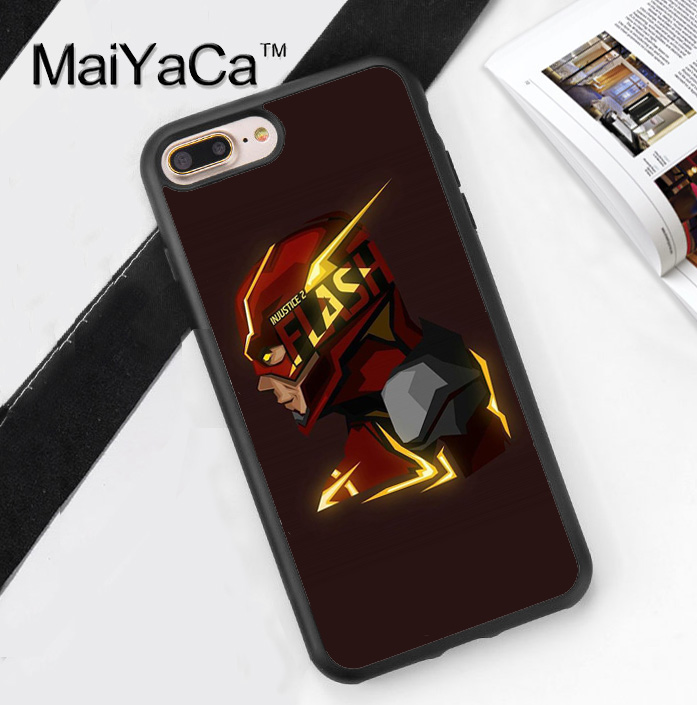 coque iphone 5 flash dc comics