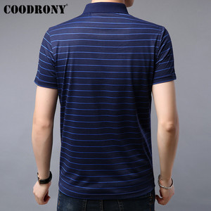 Image 3 - COODRONY T Shirt Men 2019 Summer Soft Cool Short Sleeve T Shirt Men Streetwear Casual Fashion Striped Top Tee Shirt Homme S95075
