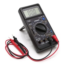 купить M890G Digital Multimeter DMM AC DC Volt Amp ohm Temperature Meter Tester Tool Frequency Meter Test Tools дешево