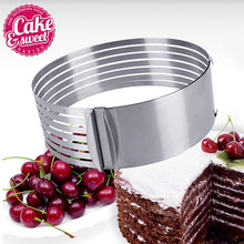 6-8 STAINLESS STEEL Extendable CAKE PASTRY MOLD