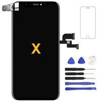 For iPhone X LCD Touch Screen TFT Tianma Quality Display Digitizer Assembly Smartphone Repair Replacement Spare Part Accessories
