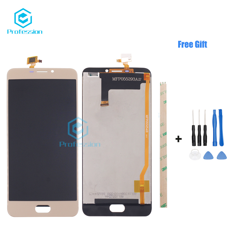 5.5For Original For Ulefone Gemini LCD Display and Touch Screen Screen Digitizer Assembly Repla cement Tools+Adhesive