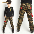 Hot Sale New 2017 Spring Jeans For Boy Camouflage Baby Boys Jeans Designer Kids Jean Pants Children's Elastic Waist Denim Pants