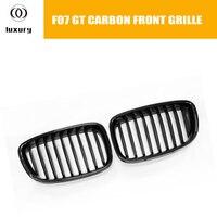 F07 Carbon Fiber Front Bumper Grille Grill for BMW F07 5 Series GT 535i 550i 530d 535d 2010 2016