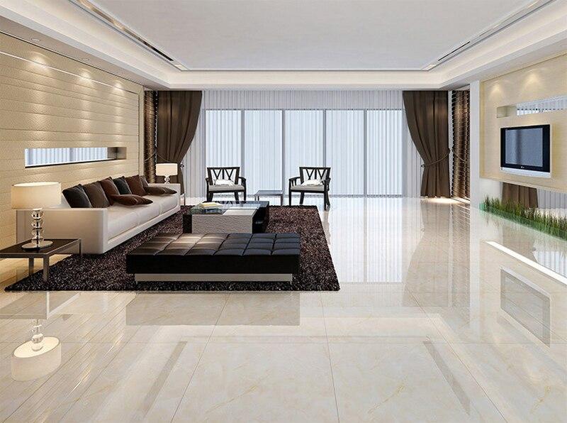 800 Guangdong Foshan Mencegah Licin Lantai Ubin Kuning Putih Villa Ruang Tamu Plank Bata Semua Keramik Mengkilap Di Dari Aliexpress