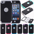 iPod Touch 7 Case iPod Touch 6 Case Heavy Duty High Impact Armor Case Cover Protective Case for Apple iPod Touch 5th/6th/7th Gen