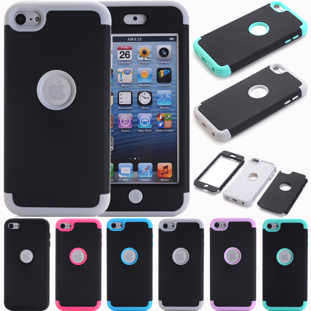 iPod Touch 7 Case 6 Heavy Duty High Impact Armor Cover Protective for Apple 5th/6th/7th Gen
