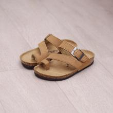 Enfants de sandales confortable de résineux enfants cool pantoufles casual anti-dérapage enfants de plage clip pieds mot pantoufles