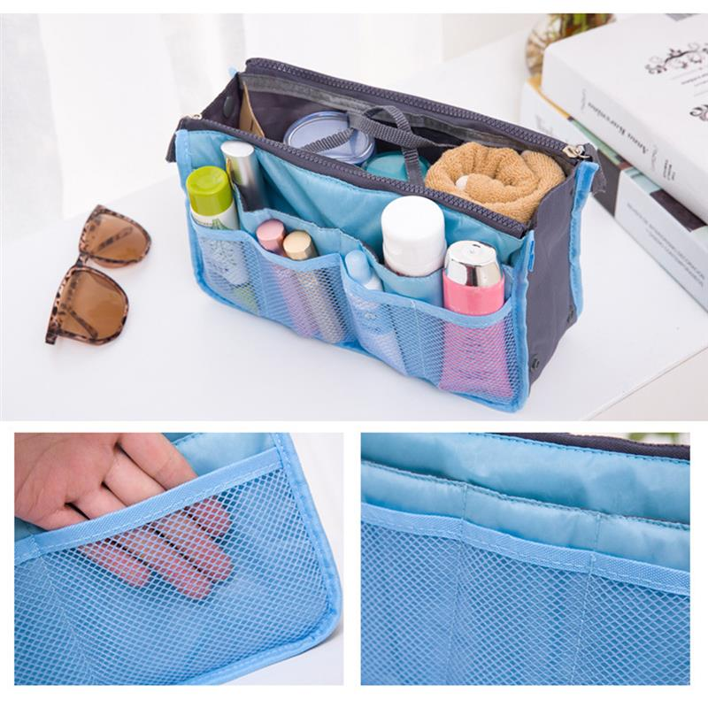 Купить с кэшбэком Cosmetic Bag Makeup Bag Travel Organizer Portable Beauty Pouch Functional Bag Toiletry Make Up Makeup Organizers Phone Bag Case