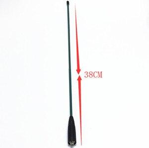 Image 2 - Grün OPX771 Weichen UV Dual Abschnitt SMA F Antenne für baofeng UV82 UV5R F8 + B5 B6 uv 6r FÜR KENWOOD