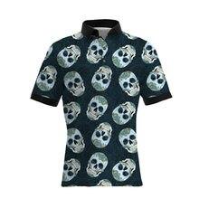 9ae04427ea715d 2019 novo homem polos de verão sobre a cópia do crânio de manga curta homem  polo camisas tamanho DA UE
