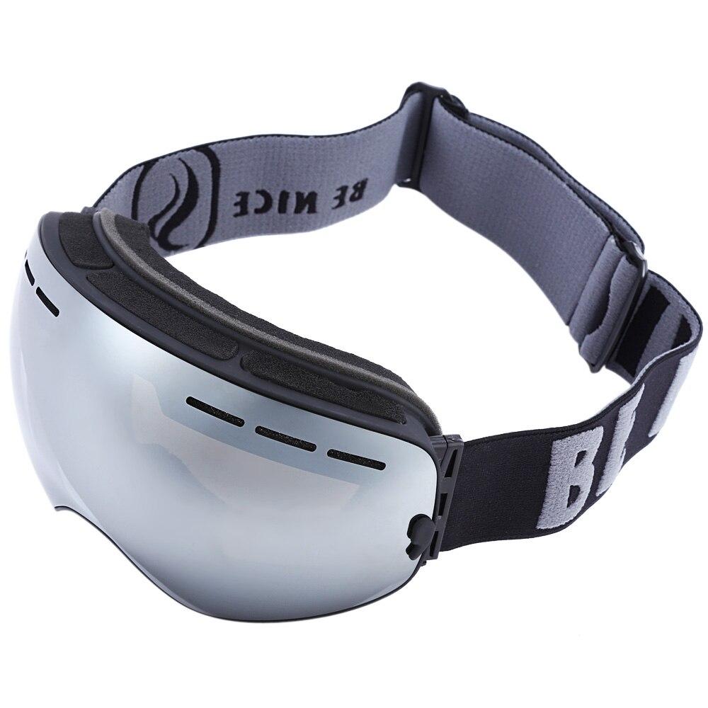 Ski Goggles Cool UV400 Skiing Eyewear Double Anti fog Big ...