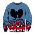 New Fashion Mens/Womens Wu Tang Clan Sublimation 3D Print Casual Sweatshirt S M L XL XXL 3XL 4XL 5XL