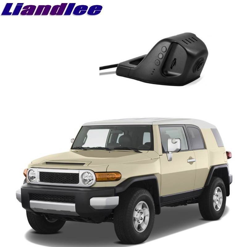 Liandlee For Toyota FJ Cruiser 2006~2017 Car Black Box WiFi DVR Dash Camera Driving Video Recorder цена
