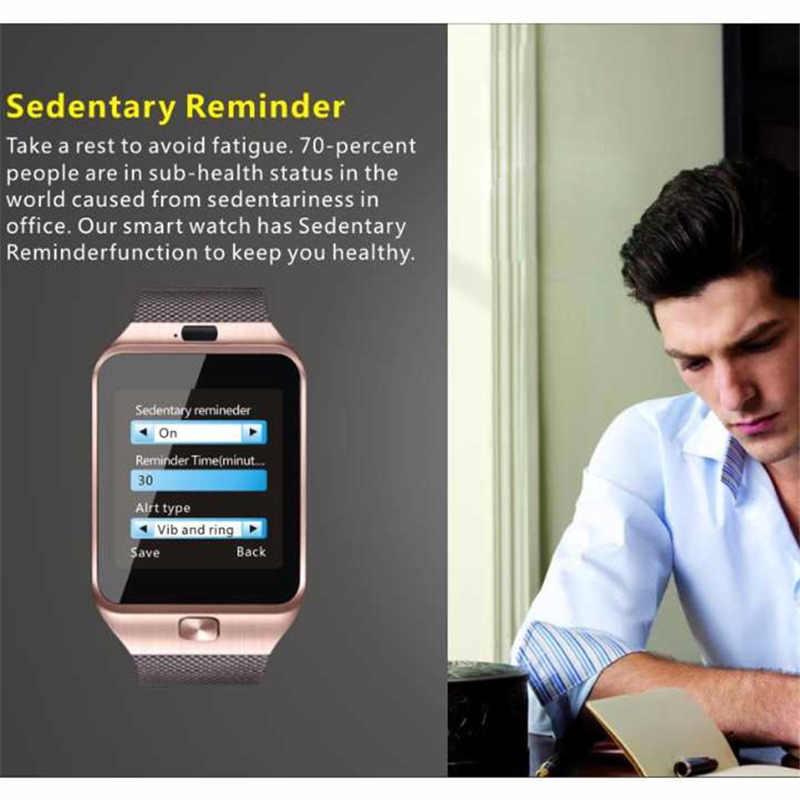 OGEDA 2019 NEW DZ09 Men women Smart Watch Male Smart Digital Sport Wrist Watch Support TF SIM Answer Call With Fitness Tracker