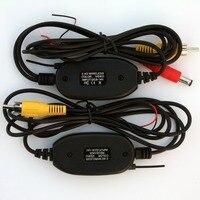 2,4 ГГц беспроводной RCA видео комплект передатчика для Автомобильный dvd-монитор gps задний сверхчувствительный элемент просмотра на микрочипа...