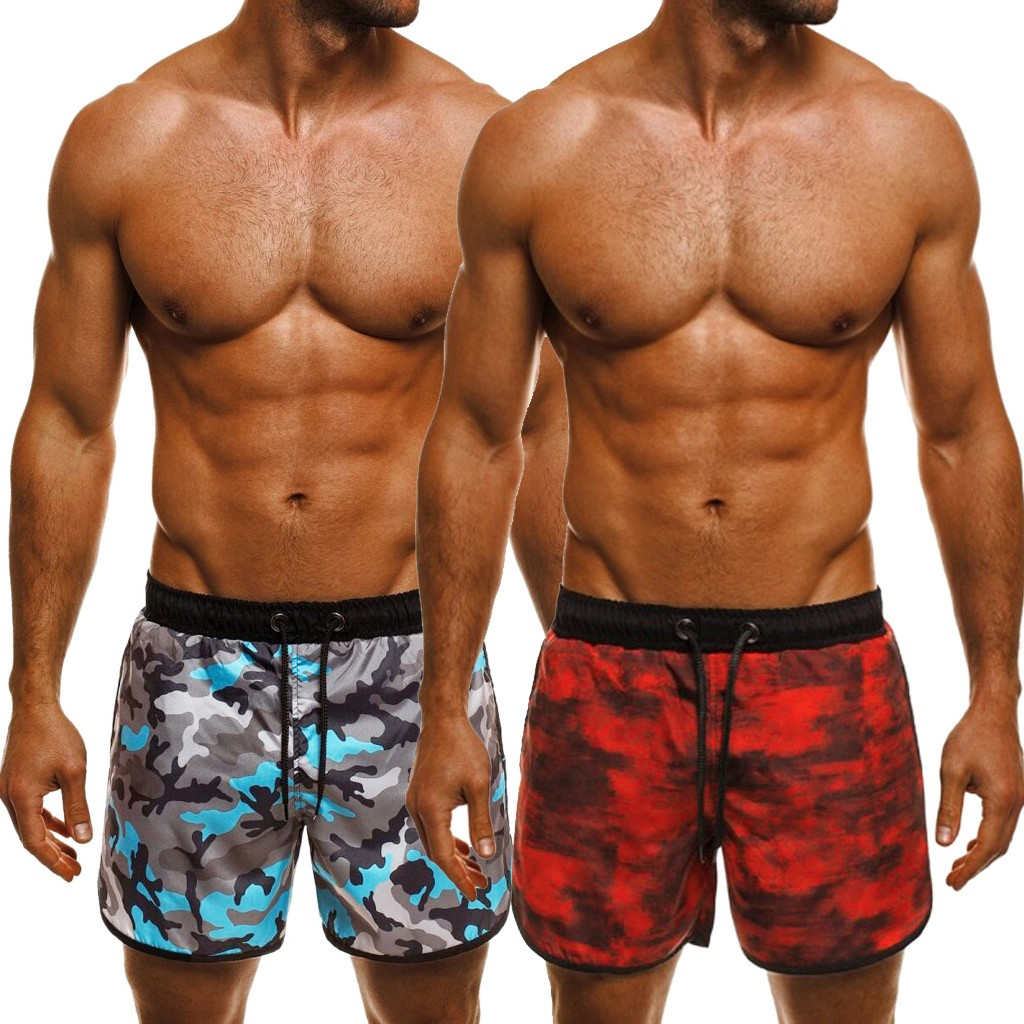 Industrious Swimwear Brief Casual Shorts Swimming Trunks Surf Printed Quick Dry Beach Surfing Running Swimming Short Pant L0328 To Adopt Advanced Technology