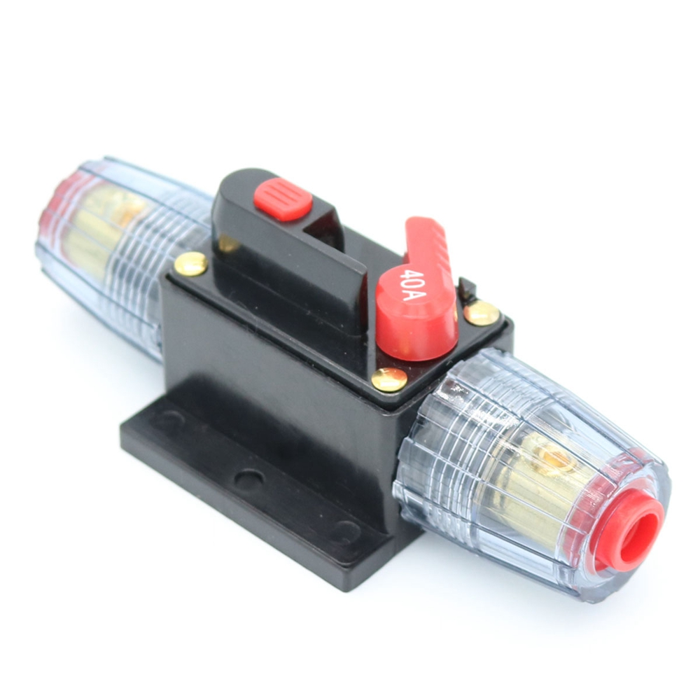 12v-24v 20a 30a 40a 50a 60a 80a 100a Dc Auto Car Bike Stereo Audio Circuit Breaker Reset Fuse Inverter Matching In Colour Hand & Power Tool Accessories