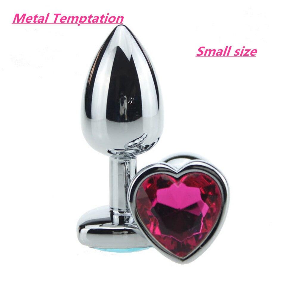 Aliexpresscom  Buy Heart Stainless Steel Metal Anal Plug -7068