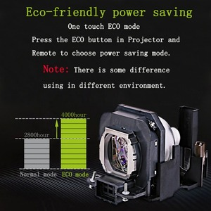 Image 4 - Projector lamp ET LAX100 voor PANASONIC PT AX100 PT AX100E PT AX100U TH AX100 PT AX200 PT AX200E PT AX200U met behuizing
