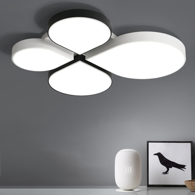 White Black LED ceiling lighting ceiling lamps for the living room bedroom chandeliers Ceiling for the hall modern ceiling lamp