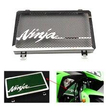 Для Kawasaki ZX250R ZX300R Ninja EX 250 300 мотоциклетная решетка радиатора из нержавеющей стали Защитная крышка ZX250R 08-12