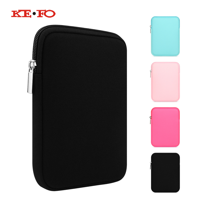 Zipper Sleeve Bag Pouch Case Cover Soft Protective Shell For Irbis TZ51/TZ52/TZ53/TZ54/TZ55/TZ56 7 inch Tablet Accessories цена и фото