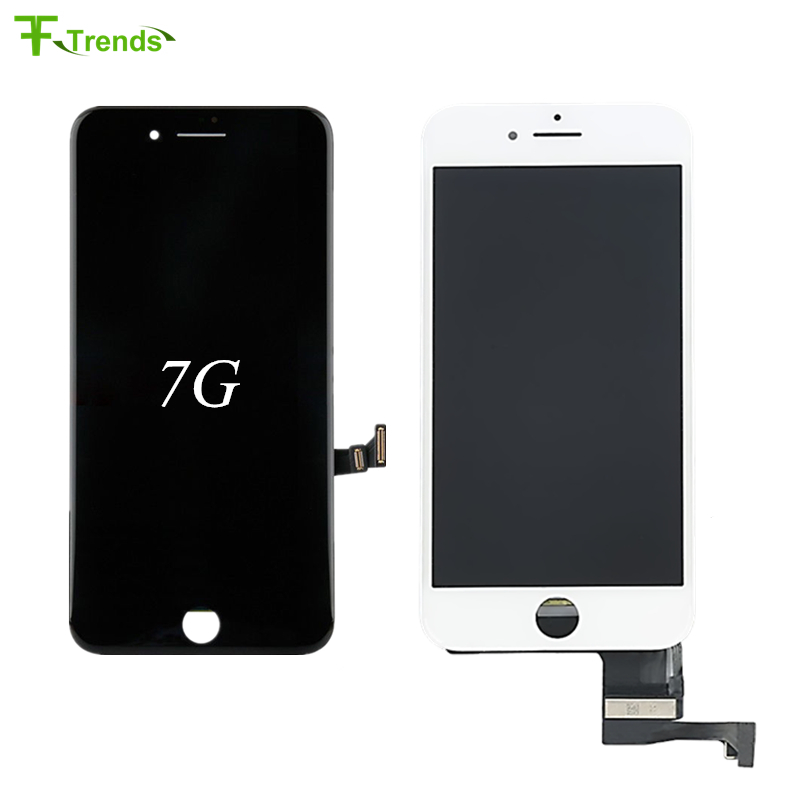 FFtrends 20pcslot 100% Tested AAA Display Replacement For iPhone 7 4.7 LCD with Digitizer Assembly 3D Touch Screen By DHL