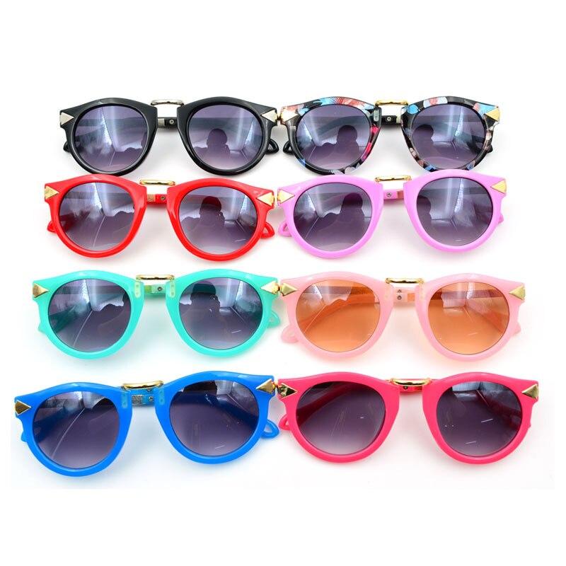 124f175028a 10pcs lot Kids Bow Sunglasses Children s Sun Glasses Baby Sun-shading  Eyeglasses Outdoor Cool UV400 Shades 2015 New Promotion