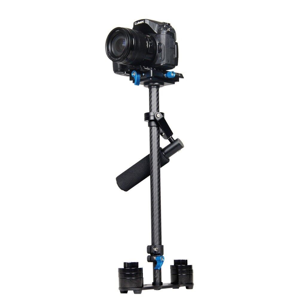 Yelangu Профессиональный углеродного волокна Стабилизатор камеры видео Steadycam видеокамеры устойчивый Cam GLIDECAM кинематографа системы для DSLR DV