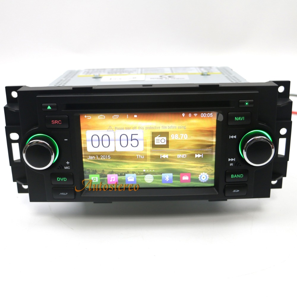 Vehicle Stereo Gps Navigation For Chrysler 300c Jeep Dodge: Android8 S200 Octa Core Car GPS Navigation DVD Player For