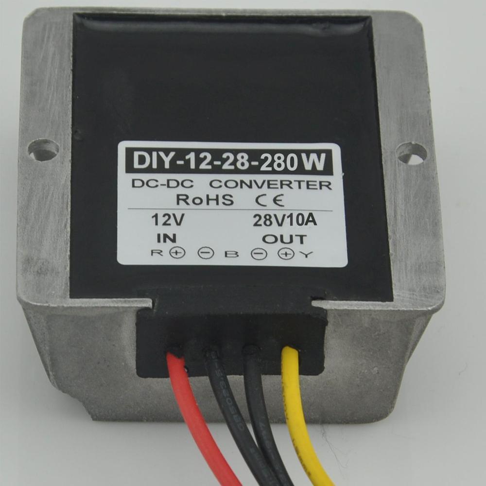 DC Converter Module power adaptor Regulator 12V(9-28V) Step up to 28V 10A 280W 10PCS геометрия 11 класс рабочая тетрадь базовый и профильный уровни