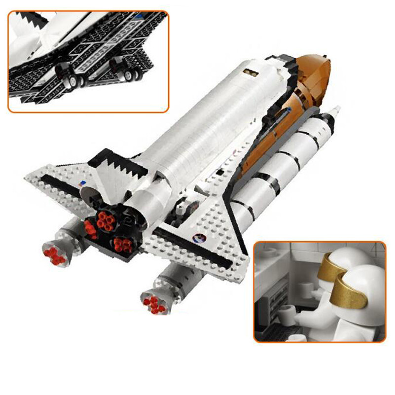 16014 Lepin Genuine Movie Series Building Blocks Out of Print Space Shuttle Expedition Creative Bricks Toys Gifts For Children space series discovery space shuttle bricks toys mini children educational building blocks toys compatible legoed