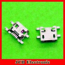 U8818 ChengHaoRan 100 pcs Micro USB Para Huawei C8813 C8813Q lenovo carregador porto soquete 5 pinos, MC-093