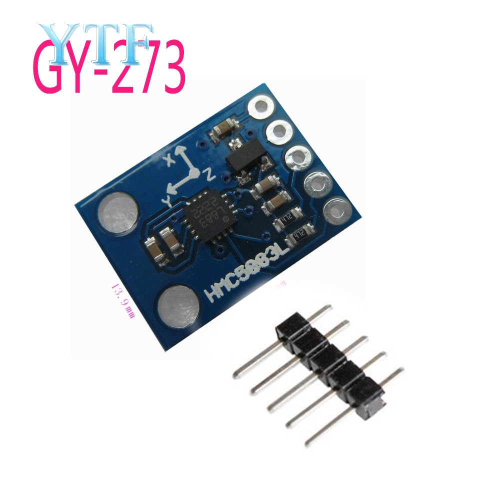GY-273 3V-5V HMC5883L Triple Axis Compass Magnetometer Sensor Module Three Axis Magnetic Field Module For Arduino