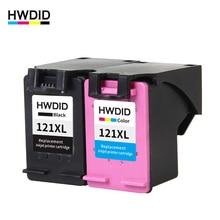 HWDID 121 Заправляемый картридж с чернилами Замена для hp 121 XL для HP Deskjet D2563 F4283 F2423 F2483 F2493 F4213 F4275 F4283 F4583